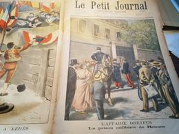 P.J 98 /AFFAIRE DREYFUS  PRISON MILITAIRE DE RENNES - 1900 - 1949