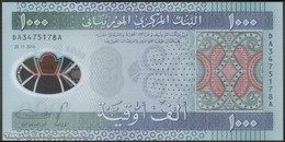 TWN - MAURITANIA 19 - 1000 1.000 Ouguiya 28.11.2014 Polymer - DA XXXXXXX A UNC - Mauritania