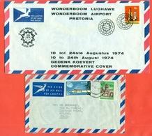 SUD AFRICA - STORIA POSTALE - LOTTI E COLLEZIONI - LOTTO DI  3 BUSTE - Afrique Du Sud (1961-...)