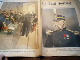 P.J 99 /AFFAIRE DREYFUS PROCES RENNES COLONEL JOUAUST  BERTILLON - 1900 - 1949