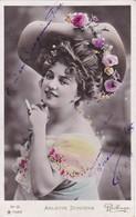POSTAL DE LA ACTRIZ ARLETTE DORGERE DEL AÑO 1907 (REUTLINGER) - Acteurs