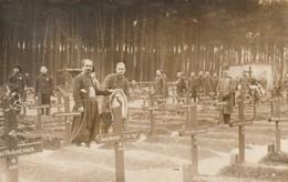 Camp De Prisonniers De Grafenwöhr - Tombes - Cimetière - Carte Photo - Guerre 1914-18