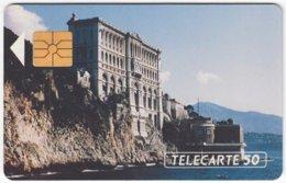 MONACO A-044 Chip Telecom - Culture, Castle - Used - Monaco