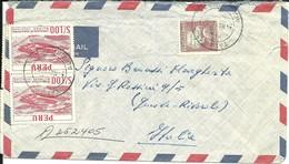 PERU' 1967 Air Mail TALARA To GENOVA - Peru