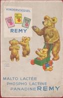 Kindervoedsel Remy Illustrator Illustrateur Jawson Wood Bear Beren Ours Toy Jouet Teddy Bear Wijgmaal Nabij Leuven. - Publicidad