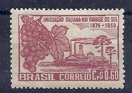 200033992  BRASIL  YVERT    Nº 481  */MH - Ungebraucht