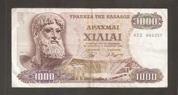 GRECIA 1000 DRACMAI 1970 - Grecia