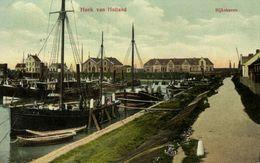 Nederland, HOEK VAN HOLLAND, Rijkshaven (1912) Ansichtkaart - Hoek Van Holland