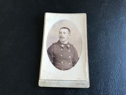 CDV PHOTO Matelot Marine Nationale  - TRESORIER TOULON Circa 1900 - Guerre, Militaire