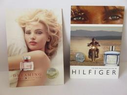 2 Echantillon Carte Parfumée Bulle Hilfiger - Perfume Samples (testers)