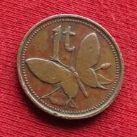 Papua New Guinea 1 Toea 1976 KM# 1  Papuasia Nova Guine Nuova Guinea Papouasie Nouvelle Guinee - Papouasie-Nouvelle-Guinée