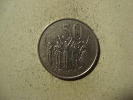 MONNAIE ETHIOPIE 50 SANTEEM 2004 / 1996 ( Magnétique ) - Ethiopia
