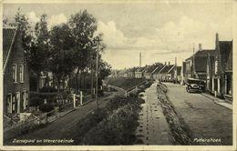 Nederland, PUTTERSHOEK, Zandpad En Weverseinde (1934) Ansichtkaart - Holanda