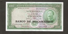 MOZAMBICO 100 ESCUDOS 1961 - Mozambico