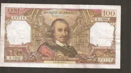 FRANCIA 100 FRANCS 1978 - 100 F 1964-1979 ''Corneille''