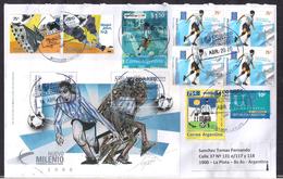 Argentina - 2020 - Lettre - Timbres Diverse - Futbol - Soccer - Storia Postale