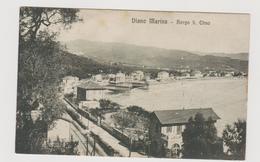 Diano Marina  (IM)  Borgo San Elmo  - F.p. - Anni '1905-'08 - Imperia