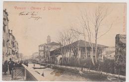 Venezia, Editore BRASOLIN , Rara , Canal Grande Traghetto S. Silvestro  - F.p. - Anni 1900-1903 - Venezia (Venice)