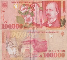 Romania / 100000 Lei / 1998 / P-110(a) / XF - Romania