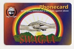 SWAZILAND Ref MV Cards SWA-12 E10 SWAGAA Date 03/2002 - Swaziland