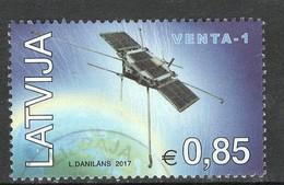 Letland 2017, Yv  998,   Gestempeld - Letland