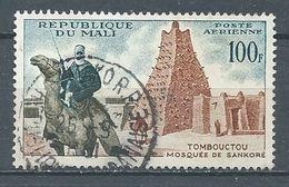 Mali Poste Aérienne YT N°12 Tombouctou Mosquée De Sankore Oblitéré ° - Mali (1959-...)