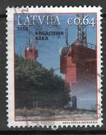Letland 2018, Yv  1028,   Gestempeld - Letland