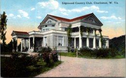 West Virginia Charleston Edgewood Country Club Curteich - Charleston