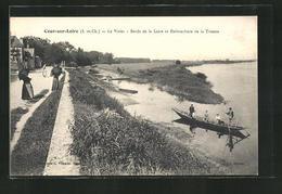 CPA Cours-sur-Loire, Le Vivier, Bords De La Loire Et Embouchure De La Tronne - France