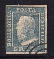 SICILE - 2 G. Outremer Oblitéré FAUX - Sicilia