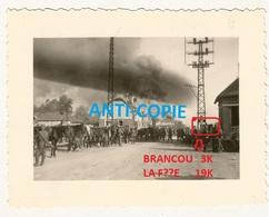 WW2 PHOTO ORIGINALE Soldat Allemand Avancée Env BRANCOURT EN LAONNOIS P. Anizy Le Grand Coucy Le Château Soissons AISNE - 1939-45