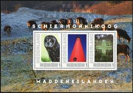 NETHERLANDS 2011 Frisian Islands Personalized Stamps Bird Owl Owls Deer Birds Animals Fauna MNH - Búhos, Lechuza