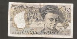 FRANCIA 50 FRANCS 1982 - 50 F 1976-1992 ''Quentin De La Tour''