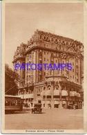 132682 ARGENTINA BUENOS AIRES PLAZA HOTEL TRANVIA TRAMWAY POSTAL POSTCARD - Belize