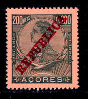 ! ! Azores - 1910 D. Manuel 200 R - Af. 131 - MNH - Azores