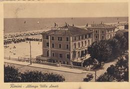 RIMINI-ALBERGO=VILLA AMATI=-CARTOLINA  VIAGGIATA IL 26-8-1941 - Rimini