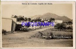 132702 ARGENTINA CORDOBA CAPILLA DEL MONTE VISTA PARCIAL POSTAL POSTCARD - Belize