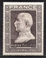 FRANCE 1944 -  Y.T. N° 606 - NEUF** - France