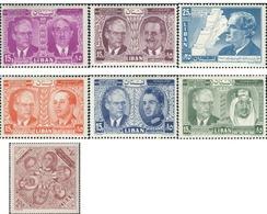 Ref. 338072 * MNH * - LIBAN. 1957. CONFERECIA DE REYES Y JEFES DE ESTADO - Lebanon