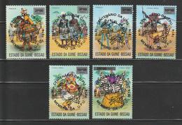 "Guinea Bissau - 1976 - ( Cent. Of UPU In 1974 - "" MASKED DANCER "" ) - MNH** - Guinea-Bissau"