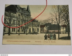 Differdingen-Differdange, Marktplatz-Place Du Marché - Differdingen
