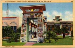 California San Jose Rosicrucian Park Replica Of Early Egyptian Shrine - San Jose