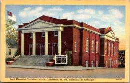 West Virginia Charleston Boyd Memorial Christian Church Curteich - Charleston