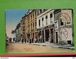 Differdange, Marktplatz. Differdange, Rue Du Marche - Differdingen