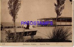 132725 ARGENTINA BUENOS AIRES BALNEARIO POPULAR POSTAL POSTCARD - Belize