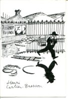 Dessin D'un Anonyme Inspiré De La Photo De Henri CARTIER-BRESSON : Derrière La Gare Saint-Lazare (Paris 1932) - Photographs