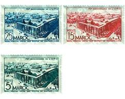 Ref. 44022 * MNH * - MOROCCO. 1949. 75th ANNIVERSARY OF UPU . 75 ANIVERSARIO DE LA UPU - Voitures