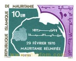 Ref. 192832 * MNH * - MAURITANIA. 1976. REUNIFIED MAURITANIA . MAURITANIA REUNIFICADA - Mauritania (1960-...)