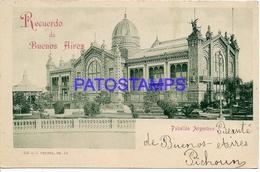132749 ARGENTINA BUENOS AIRES PABELLON ARGENTINO POSTAL POSTCARD - Belize