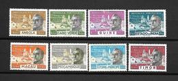 Portugal África - Cidade S. Paulo (Angola, Cabo Verde, Guiné, Índia, Macau, Moçambique, S Tomé E Timor - Serie Completa - Afrique Portugaise